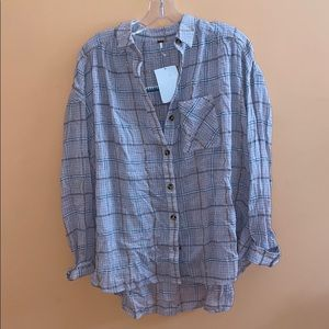 Nwt free people flannel